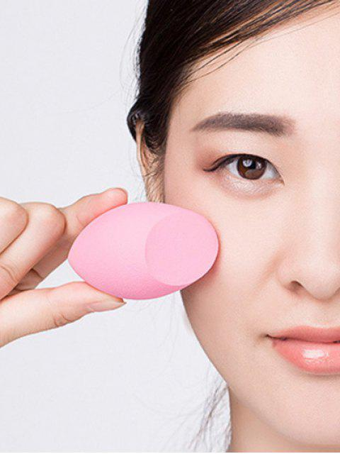 lady Cut Egg Water Swellable Beauty Blender - PINK  Mobile