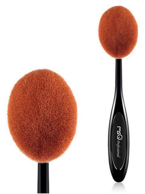 new Oval Toothbrush Shape Blush Brush - BLACK  Mobile