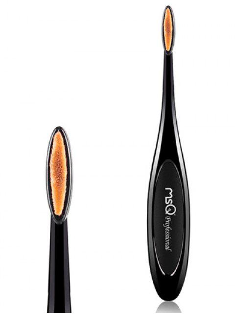 outfit Toothbrush Shape Lip Brush - BLACK  Mobile