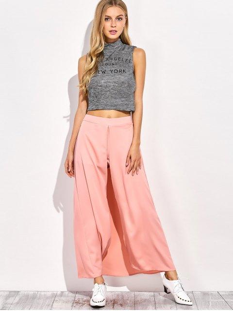 Jupe Maxi Shorts - ROSE PÂLE 2XL Mobile