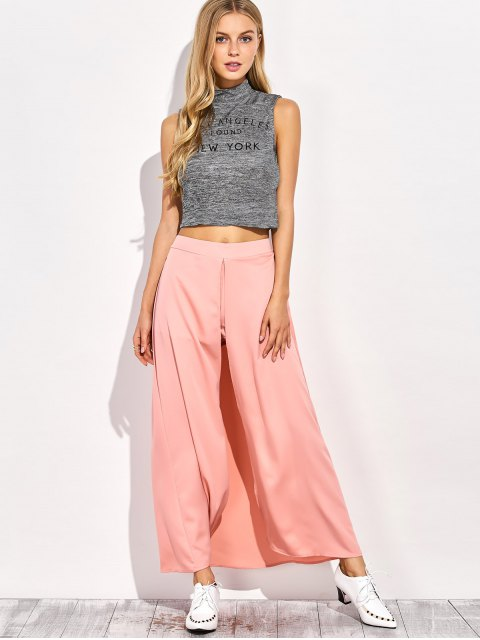 shops Maxi Skirt Shorts - PINK S Mobile
