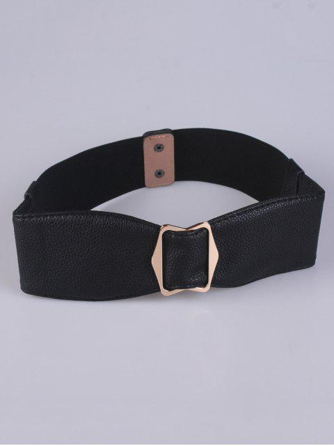 womens Bowknot Buckle Stretch Belt -   Mobile