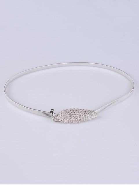 shop Peacock Alloy Metal Belt -   Mobile
