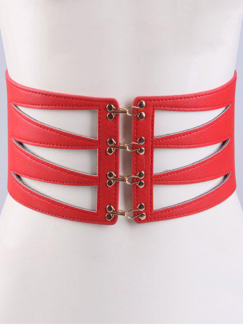 lady Hollow Triangle Waist Belt -   Mobile