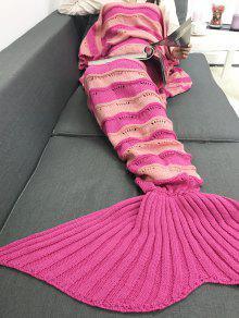 رشاقته الشريط محبوك التفاف حورية البحر الذيل بطانية - السانجريا