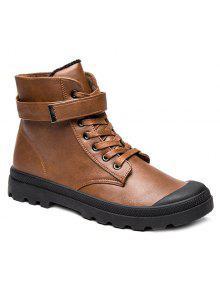 المعادن التعادل حتى بو الجلود الأحذية - بنى 44
