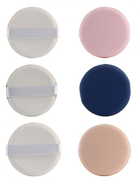 womens 8 Pcs Calm Makeup BB Cream Powder Puffs - COLORMIX