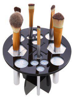 Maquillage Brosse Ronde Arbre - Noir
