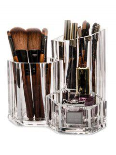 Brush Holder Makeup Organizer - Transparent