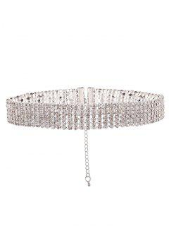 Parez Collier Strass - Blanc