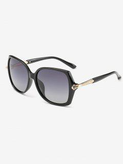Butterfly Ombre Sunglasses - Black