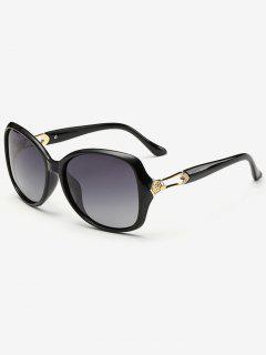 Ombre Butterfly Sunglasses - Photo Black
