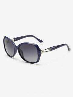Ombre Mariposa Gafas De Sol - Azul