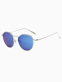 Pilot Mirrored Sunglasses - Blue