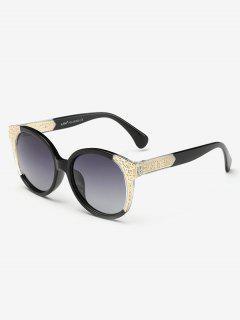 Two Tone Ombre Sunglasses - Photo Black
