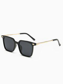 Full Frame Square Sunglasses - Black