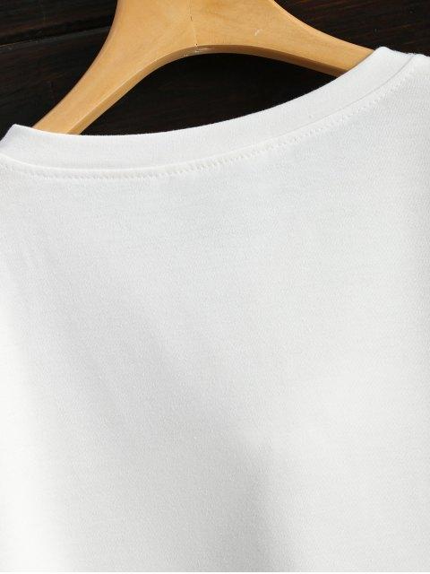 online Pom Pom Sweatshirt - WHITE XL Mobile