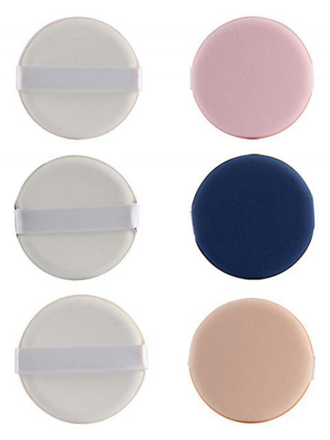 womens 8 Pcs Calm Makeup BB Cream Powder Puffs - COLORMIX  Mobile