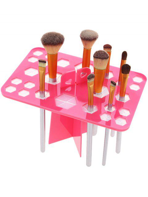 online Makeup Drying Brush Tree - PINK  Mobile
