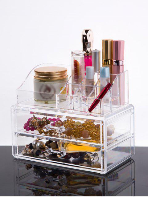 outfit Makeup Organizer Drawer - TRANSPARENT  Mobile