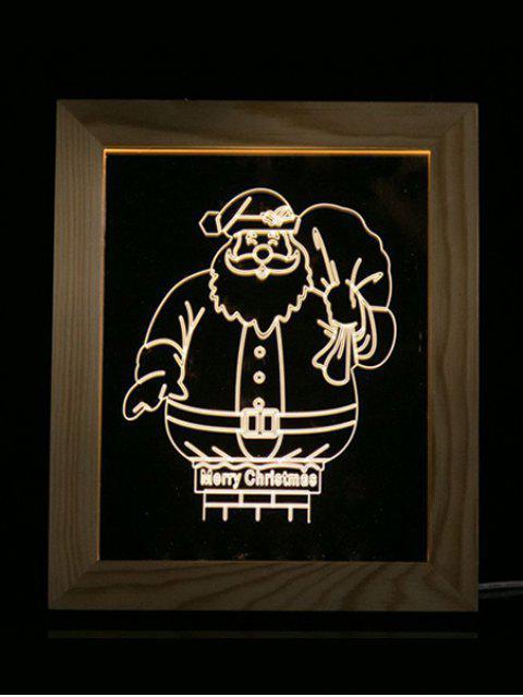 womens Merry Christmas Photo Frame LED Night Light - TRANSPARENT  Mobile