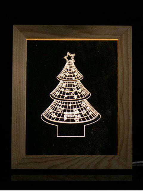 women's Christmas Tree Photo Frame LED Night Light - TRANSPARENT  Mobile