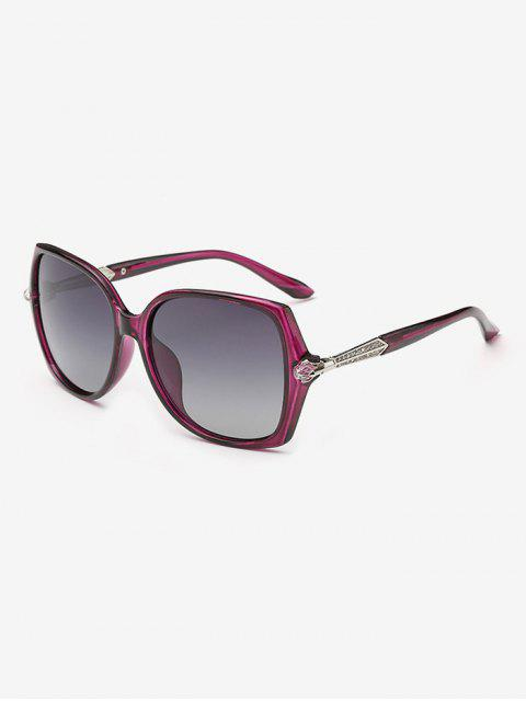 shop Butterfly Ombre Sunglasses - PURPLE  Mobile