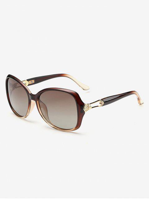 fancy Ombre Butterfly Sunglasses - TEA-COLORED  Mobile