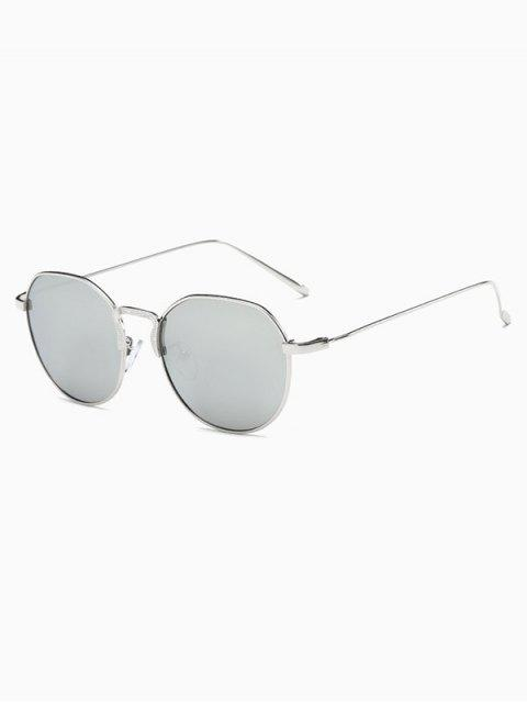 buy Pilot Mirrored Sunglasses - SILVER  Mobile