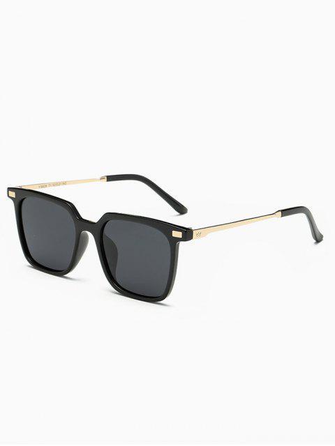 hot Full Frame Square Sunglasses - BLACK  Mobile