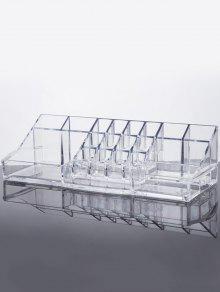 Vanidad Organizador De Maquillaje - Transparente