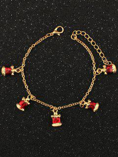 Christmas Bells Bracelet - Golden