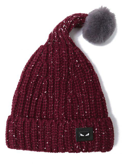 womens Demon Label Flanging Knit Hat -   Mobile