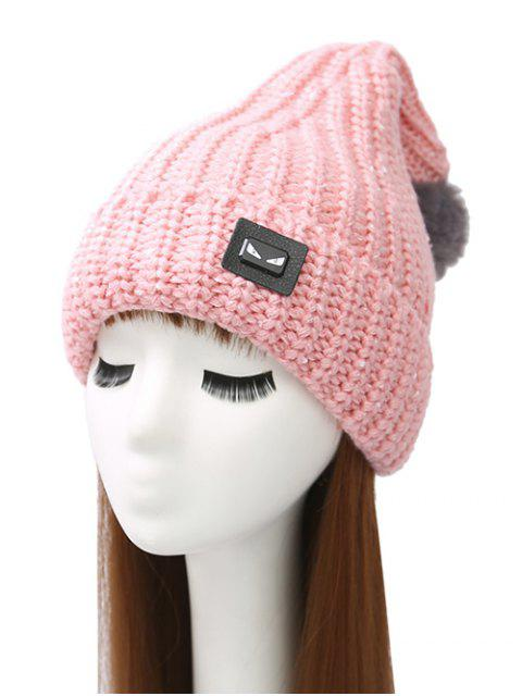 women's Demon Label Flanging Knit Hat -   Mobile