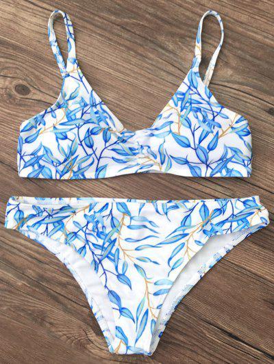 Image of Bright Printed Bikini Set