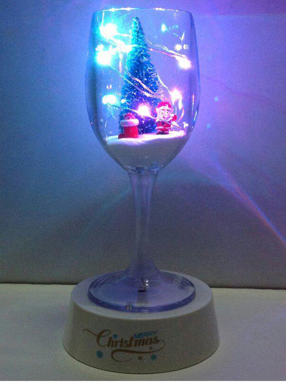Navidad cáliz Copa de luz LED de la noche del USB - COLORIDO
