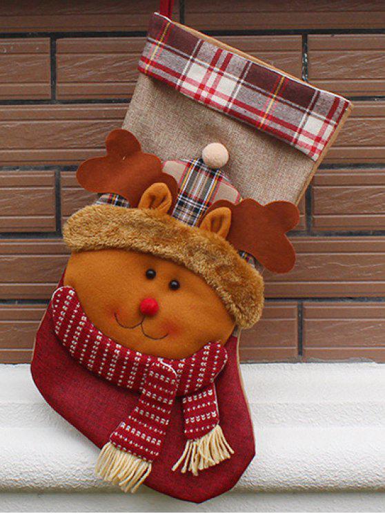 زخرفة عيد الميلاد الحالي حقيبة جورب - Colormix