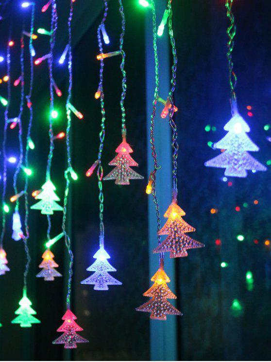 Weihnachtsbaum Dekoration mit Anhänger-LED-Schnur-Licht - Farbig