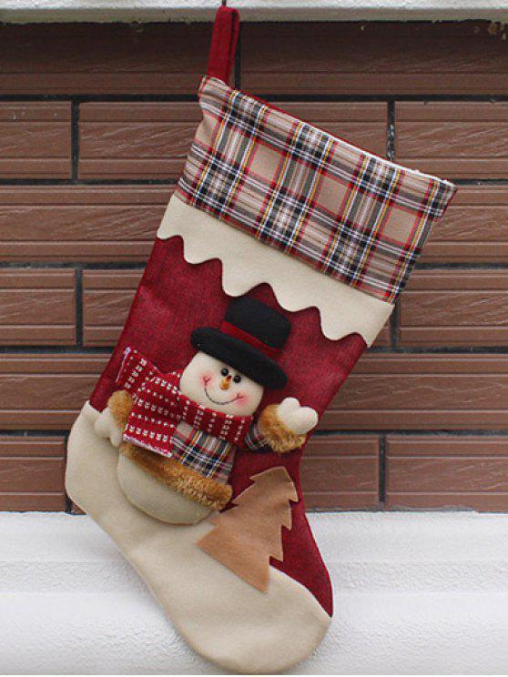 Weihnachten Schneemann Kinder Süßigkeiten Socke - COLORMIX