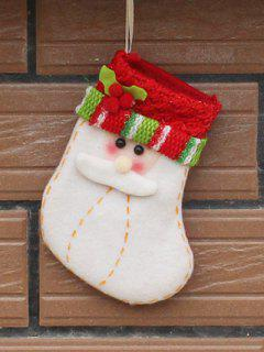 Christmas Santa Party Decoration - Red With White
