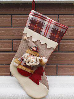 Christmas Santa Hanging Kids Candy Present Sock