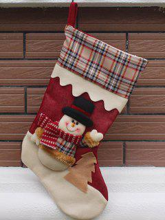 Christmas Snowman Kids Candy Sock