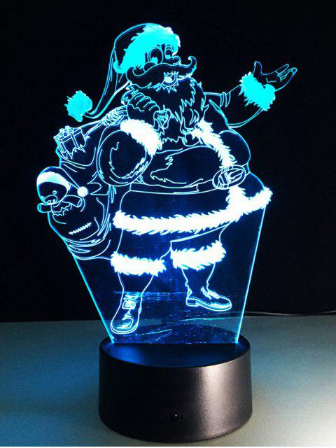 affordable Merry Christmas Santa Claus Touch Night Light -   Mobile