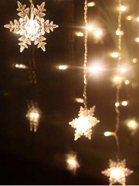 Ligne de lumières LED pententifs pour décoration de bal et de fête de Noël - Blanc Chaud  Mobile