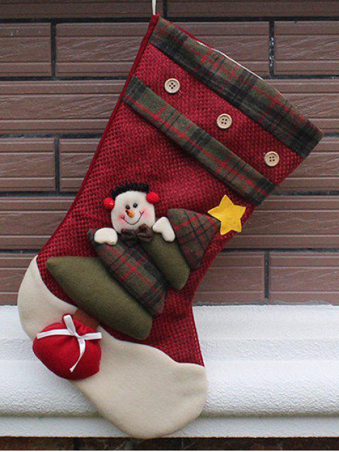 shops Santa Clous Christmas Present Sock -   Mobile