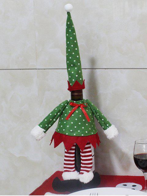 women Christmas Dot Wine Bottle Cover Bag -   Mobile