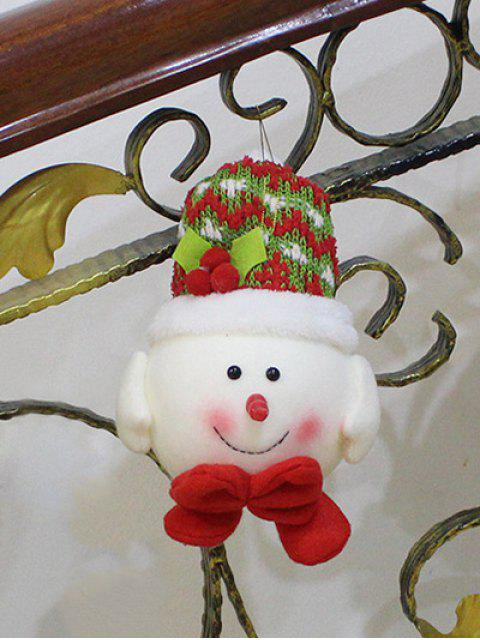 trendy Snowman Hanging Doll Pendant Christmas Decoration -   Mobile