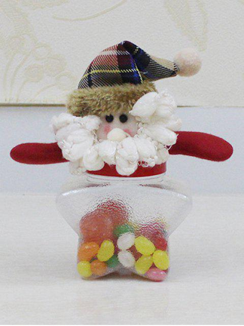 affordable Christmas Transparent Star Shape Candy Jar -   Mobile