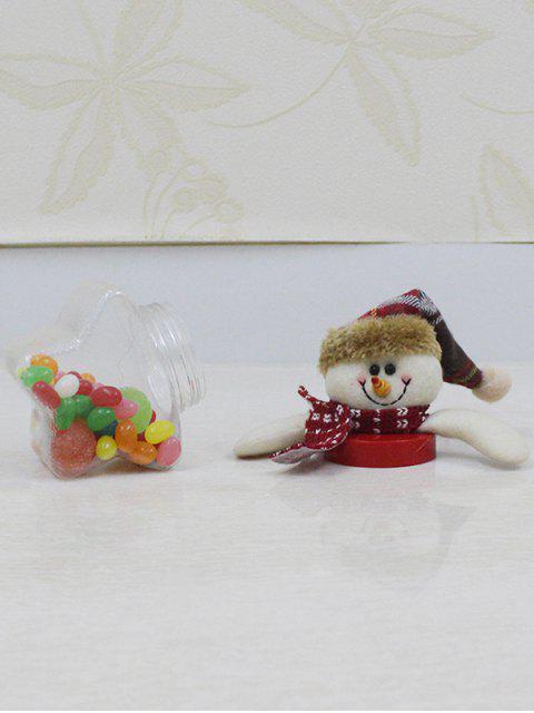 sale Christmas Snowman Kids Gift Candy Jar -   Mobile
