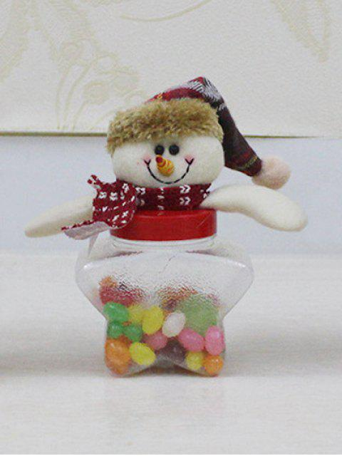 sale Christmas Snowman Kids Gift Candy Jar -   Mobile